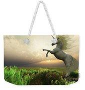 Unicorn Stag Weekender Tote Bag