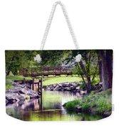 Unicorn Walk-bridge Weekender Tote Bag