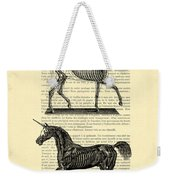 Unicorns Anatomy Weekender Tote Bag