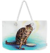 Uninvited Dinner Guest Weekender Tote Bag