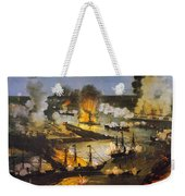 Union Bombardment, 1862 Weekender Tote Bag