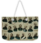 Union Commanders Of The Civil War   Weekender Tote Bag