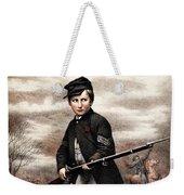 Union Drummer Boy John Clem Weekender Tote Bag by War Is Hell Store