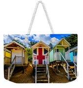 Union Jack Beach Hut 2 Weekender Tote Bag