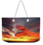 Union Lake Sunrise Feb 14th 2011 - Longmont - Boulder County - C Weekender Tote Bag
