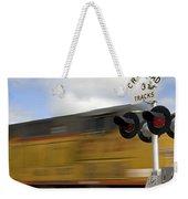 Union Pacific Coal Train Weekender Tote Bag