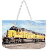 Union Pacific Up - Railimages@aol.com Weekender Tote Bag