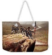 Union Soldiers On Lookout Mountain Weekender Tote Bag