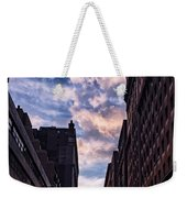 Dusk Over A Union Square Coffee Weekender Tote Bag