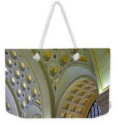 Union Station Ceiling Weekender Tote Bag