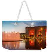 Union Station Kansas City Chiefs Weekender Tote Bag