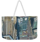 Union Station Train Yard Toronto From The Cn Tower Weekender Tote Bag