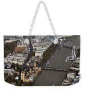 Unique And Rare Aerial View Of Iconic City Of London Weekender Tote Bag