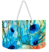 Unique Art - A Touch Of Red - Sharon Cummings Weekender Tote Bag