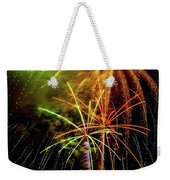 Unique Fireworks Weekender Tote Bag