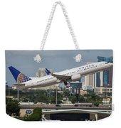 United Airlines Weekender Tote Bag