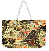 United Kingdom Proof Of Post Weekender Tote Bag