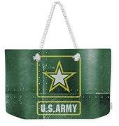 United States Army Logo On Green Steel Tank Weekender Tote Bag