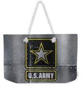United States Army Logo On Steel Weekender Tote Bag