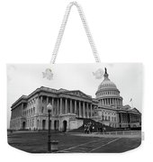 United States Capitol Building 2 Bw Weekender Tote Bag