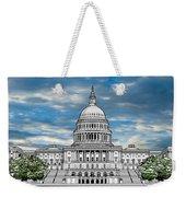 United States Capitol Building Weekender Tote Bag