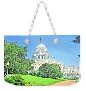 United States Capitol - Washington Dc Weekender Tote Bag