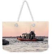 United States Coast Guard Heading Out Weekender Tote Bag