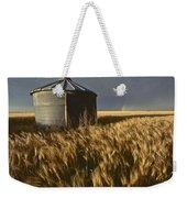 United States, Kansas Wheat Field Weekender Tote Bag