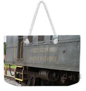 United States Mail Railway Post Office Box Car Weekender Tote Bag