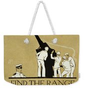 United States Navy Recruitment Poster From 1918 Weekender Tote Bag