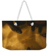 United States People Feet At A Party Weekender Tote Bag