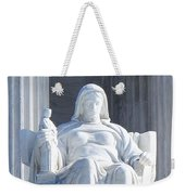 United States Supreme Court, The Contemplation Of Justice Statue, Washington, Dc 2 Weekender Tote Bag