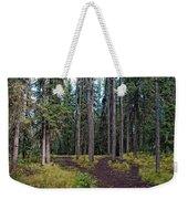 University Of Alaska Fairbanks Trail System Weekender Tote Bag