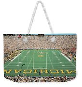 University Of Michigan Stadium, Ann Weekender Tote Bag