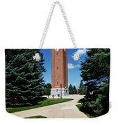 University Of Northern Iowa Bell Tower Weekender Tote Bag