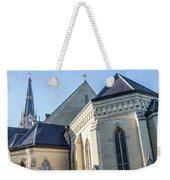 University Of Notre Dame Basilica  Weekender Tote Bag