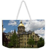 University Of Notre Dame Main Building 1879 Weekender Tote Bag