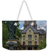 University Of Notre Dame Main Building Weekender Tote Bag