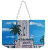 University Of Puerto Rico Tower Weekender Tote Bag