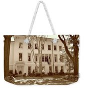 University Of South Carolina President's Residence In Sepia Tones Weekender Tote Bag