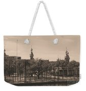 University Of Tampa With Old World Framing Weekender Tote Bag by Carol Groenen