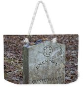 Unknown Confederate Soldier - Natchez Trace Weekender Tote Bag
