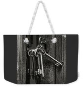 Unlocked - Keys And Opened Door Weekender Tote Bag