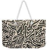 Unpiercable Heart Weekender Tote Bag