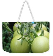 Unripe Cherry Tomatoes  Weekender Tote Bag