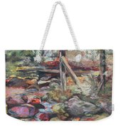Unseated On Trout Brook Weekender Tote Bag