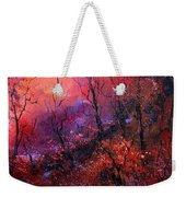 Unset In The Wood Weekender Tote Bag