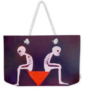 Until Death Do Us Part Weekender Tote Bag