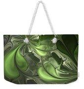 Untitled 1-26-10 Pale Green Weekender Tote Bag