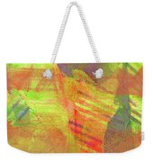 Untitled #13 Abstract Multicolor Weekender Tote Bag